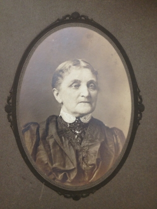 Nellie's mother,  Kate Gallin